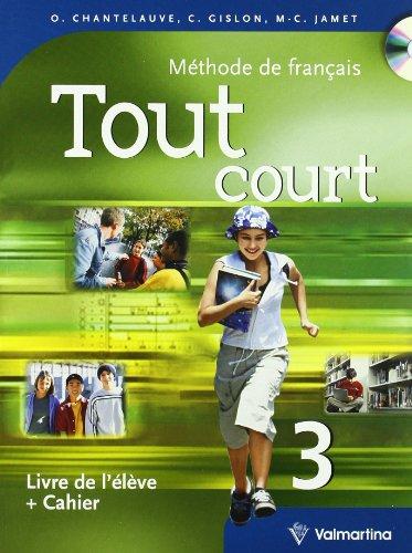 9788849481693: Tout court. Per la Scuola media: TOUT COURT 3 +LAB +CD