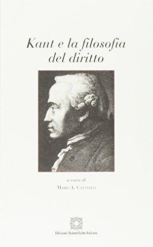 Kant e la filosofia del diritto