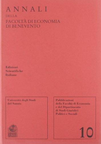 9788849511932: Annali della Facoltà di economia di Benevento: 10
