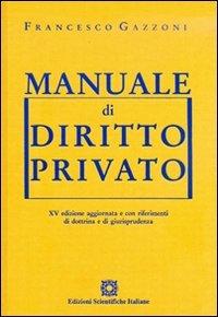 9788849521849: Manuale di diritto privato