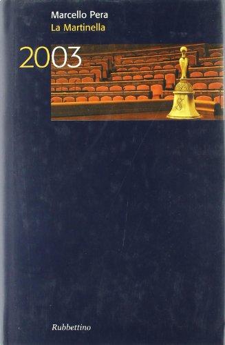 La Martinella 2003 (Hardback): Marcello Pera