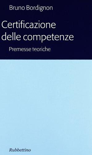 Certificazioni delle competenze: Bordignon, Bruno