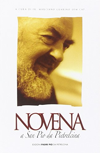 9788849900668: Novena a san Pio da Pietrelcina