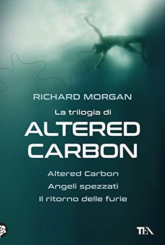 9788850257584: La trilogia di Altered Carbon: Altered Carbon-Angeli spezzati-Il ritorno delle furie