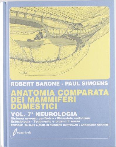 9788850653720: Anatomia comparata dei mammiferi domestici: 7\2