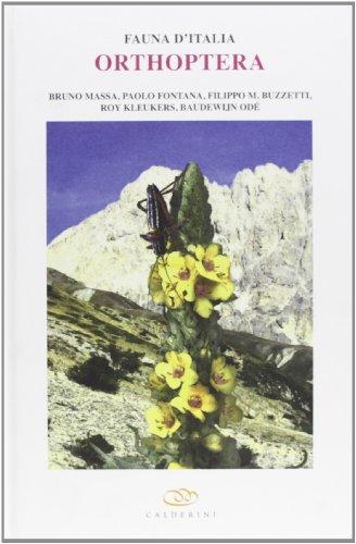 9788850654086: Orthoptera. Con DVD (Fauna d'Italia)