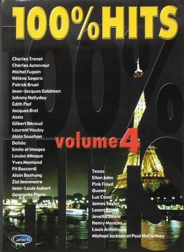 9788850700233: 100% hits, volume 4 piano, voix, guitare