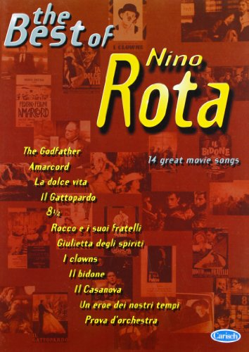 9788850701247: The Best Of Book Piano/Vocal/Chords Nino Rota