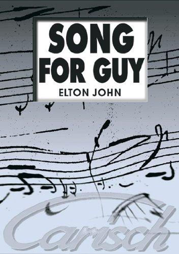 9788850701339: CARISCH JOHN ELTON - SONG FOR GUY - PVG Sheet music pop, rock Piano voice guitar