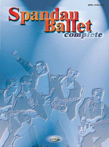 9788850703319: Spandau Ballet Complete (Piano Vocal Guitar)