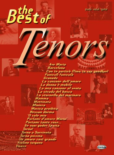 9788850703500: Tenors Best of the (Piano/Vocal)