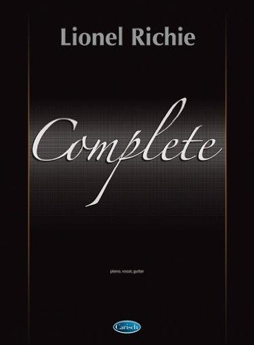 Lionel richie Complete : Piano/Vocal/Guitar [Paperback]: Richie