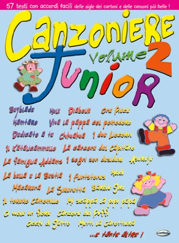 9788850703753: CARISCH CANZONIERE JUNIOR VOL.2 - PAROLES ET ACCORDS Partition variété, pop, rock... Variété internationale Paroles&accord