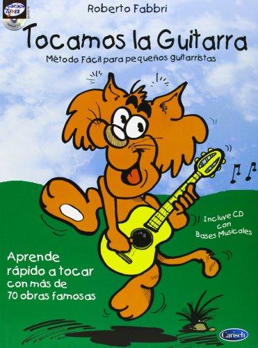 9788850704224: TOCAMOS LA GUITARRA + CD METODO FACIL PARA PEQUEÃ'OS GUITARR