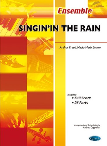 9788850704491: CARISCH FRED, BROWN - SINGING IN THE RAIN - CONDUCTEUR