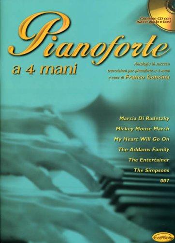 9788850704736: Pianoforte Antologia 4 Mains Vol.1+Cd