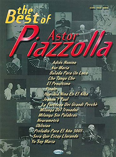 9788850706303: The Best of Astor Piazzolla