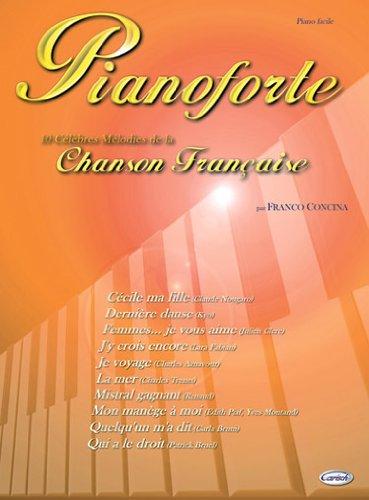 9788850706501: Pianoforte (chanson française) - piano facile