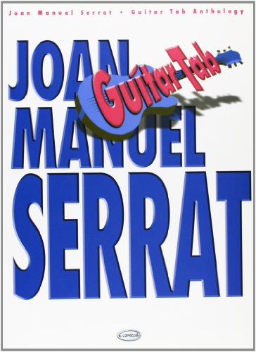 9788850707379: Joan Manuel Serrat: Guitar Tab Anthology (Antologia)