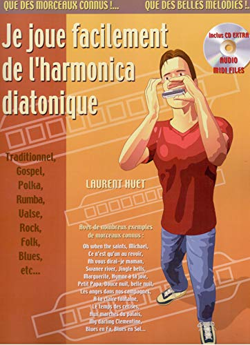 9788850708710: Je Joue Facilement de l'Harmonica Diatonique (+ 1 CD)