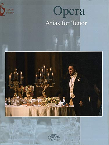 9788850709281: Arias for Tenor Opera Vocal Piano