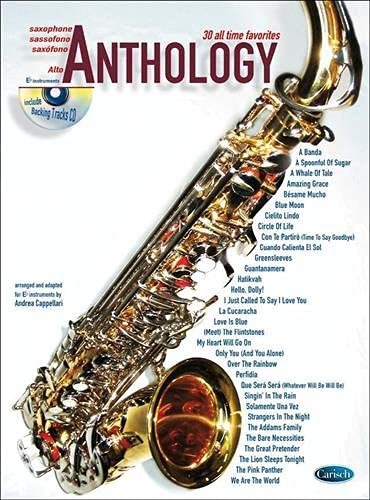 9788850709533: Anthology Alto Sax V.1 + CD