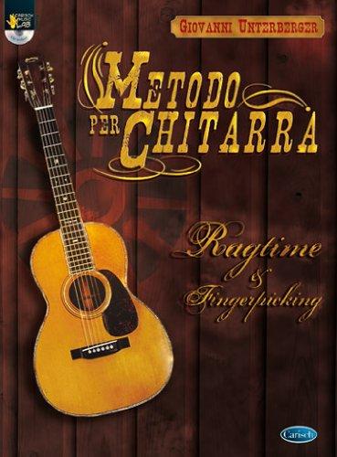 9788850709731: Metodo per chitarra. Ragtime & fingerstyle. Con CD