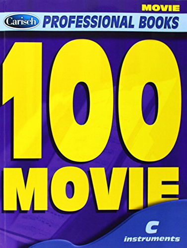 100 movie : for c instrumentstext, melody line and chord symbols