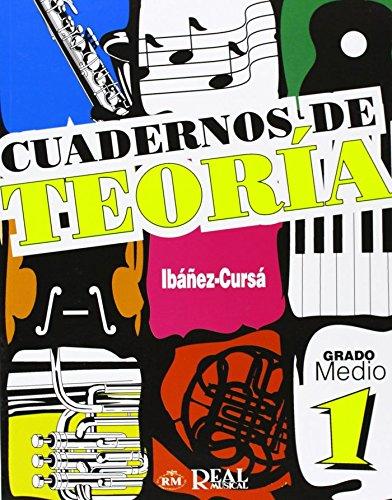 9788850710256: Cuadernos de Teoría, Grado Medio 1 (RM Teoria de la musica)