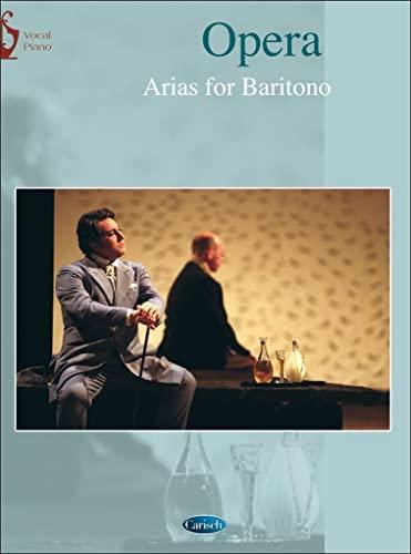 Opera arias : für Bariton und Klavier (it)