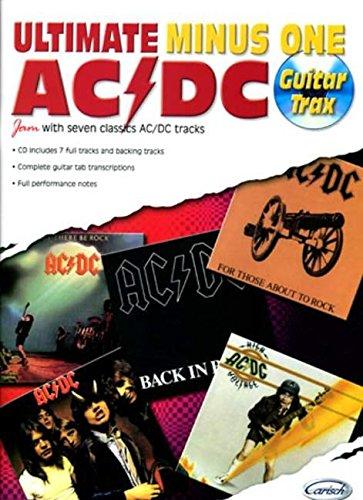 9788850710911: Ac/Dc Ultimate Minus One Guitar Tab Book/Cd