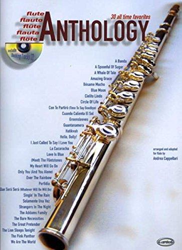 Anthology vol.1 (+CD) : for flute