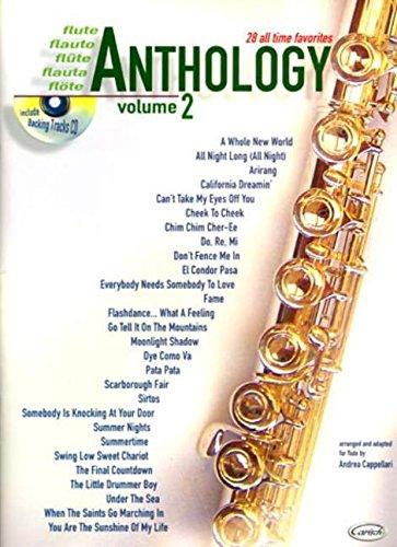 9788850711352: Anthology Flute Vol.2 + CD
