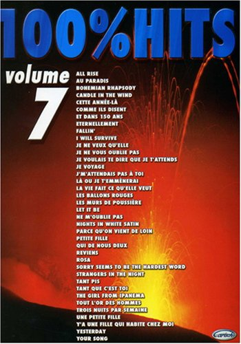 9788850711918: 100% Hits, Volume 7 Piano, Voix, Guitare