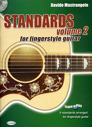 9788850712816: Standards for Fingerstyle Guitar, Volume 2 (Learn and Play)