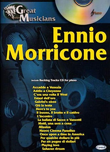9788850713011: ENNIO MORRICONE: GREAT MUSICIANS SERIES PIANO+CD