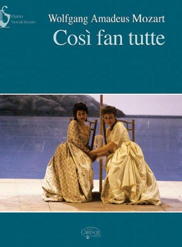 9788850713295: Wolfgang Amadeus Mozart: Così Fan Tutte (Vocal Score) (Opera and Arias)