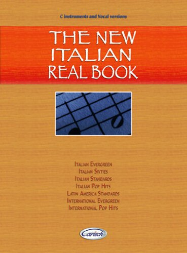 9788850714100: The New Italian Real Book