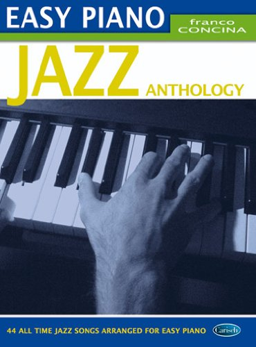 9788850714254: Concina Franco Easy Piano Jazz Anthology Piano Facile