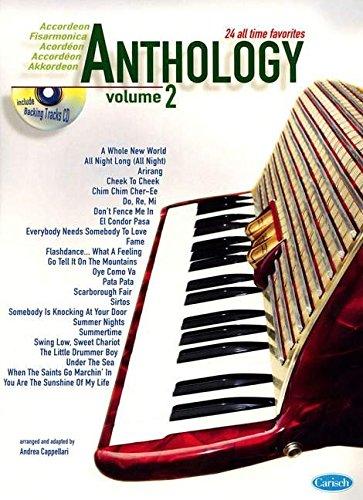 9788850714636: Anthology (Accordion), Volume 2 (Anthology (Cappellari))