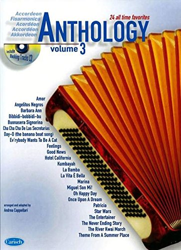 Anthology (+CD) : for accordeon