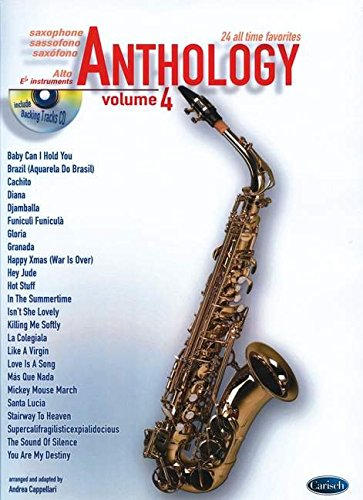 9788850717170: Anthology (Alto Sax & Eb Instrum.), Volume 4 (Anthology (Cappellari))