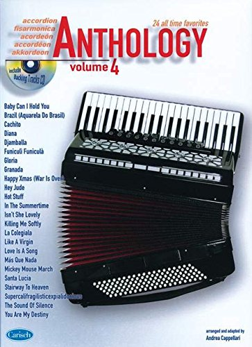 9788850717248: Anthology (Accordion), Volume 4: Anthology (by Cappellari) (Anthology (Cappellari))