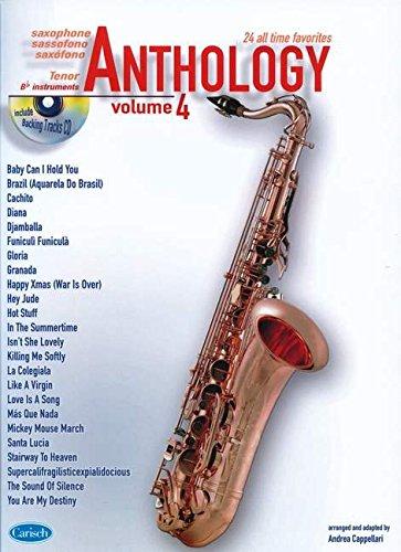 9788850717255: Anthology (Tenor Sax), Volume 4: Anthology (by Cappellari) (Anthology (Cappellari))