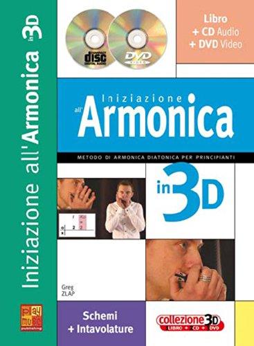 9788850719020: CARISCH - Harmonica - Zlap Gleg - Iniziazione Armonica 3D+Cd+Dvd