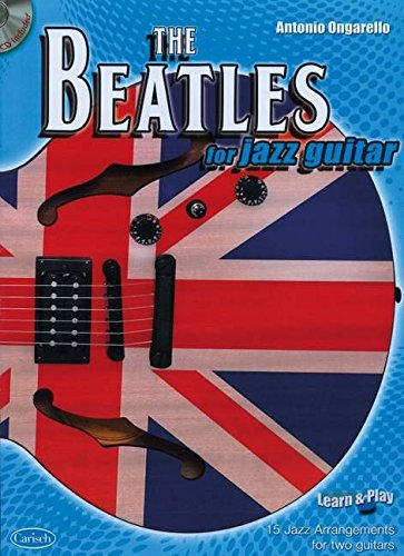 9788850719068: BEATLES FOR JAZZ GUITAR +CD: Learn & Play