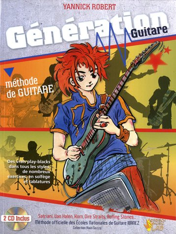 9788850719266: Yannick Robert Generation Guitare Guitar Book/2Cd French