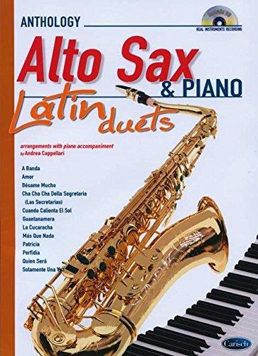 9788850720361: Latin Duets for Alto Sax & Piano: Anthology Duets (Anthology Duets/Trios/Quartets)