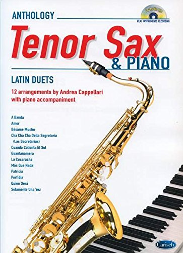 9788850720378: Latin Duets for Tenor Sax & Piano. Partitions, CD pour Saxophone, Piano