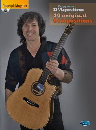 9788850723652: Peppino D'Agostino: 10 Original Compositions. Partitions, CD pour Guitare